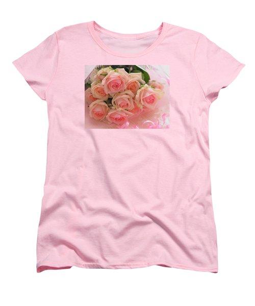 Bouquet Of Sweetness Women's T-Shirt (Standard Cut) by Rachel Mirror