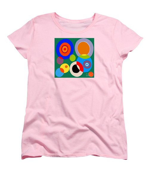 Women's T-Shirt (Standard Cut) featuring the painting boy by Beth Saffer