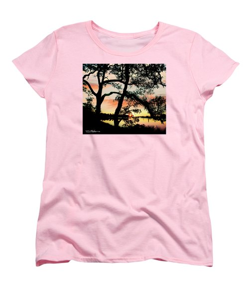 Break Of Dawn Women's T-Shirt (Standard Cut) by Tim Fitzharris
