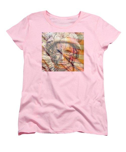 Breaking The Glass Ceiling Women's T-Shirt (Standard Cut) by Mary Ward