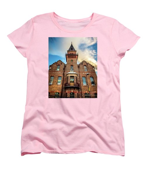 Women's T-Shirt (Standard Cut) featuring the photograph Brick Tower by Perry Webster