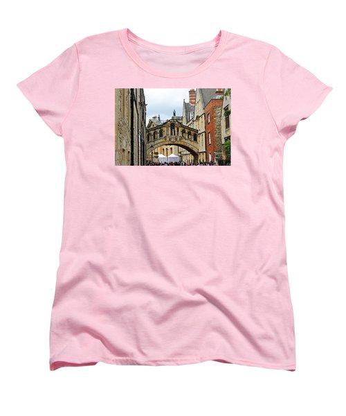 Bridge Of Sighs Women's T-Shirt (Standard Cut) by Tony Murtagh