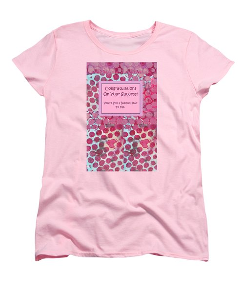 Congratulations Women's T-Shirt (Standard Cut) by Mary Ellen Frazee
