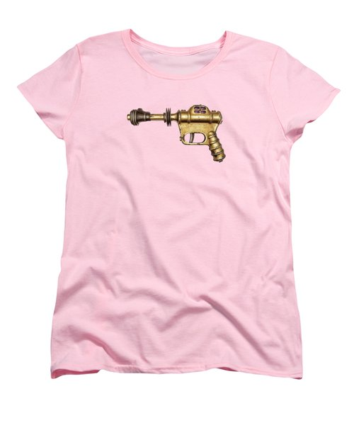 Buck Rogers Ray Gun Women's T-Shirt (Standard Cut) by YoPedro