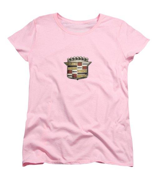 Cadillac Badge Women's T-Shirt (Standard Cut)