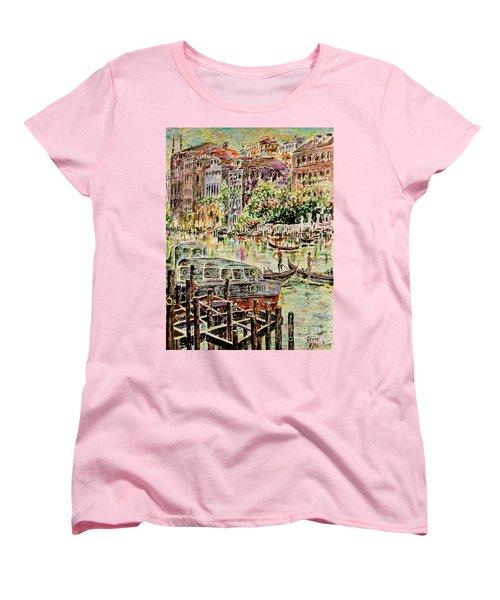 Canale Grande Women's T-Shirt (Standard Cut)