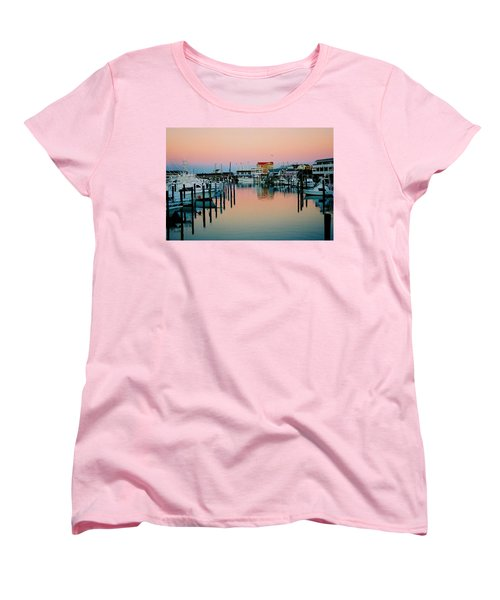 Women's T-Shirt (Standard Cut) featuring the photograph Cape May After Glow by Steve Karol
