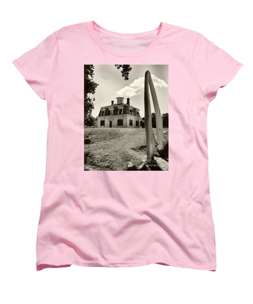 Captions Home Women's T-Shirt (Standard Cut) by Raymond Earley