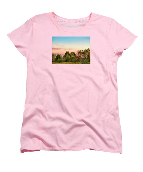 Car Scenery Women's T-Shirt (Standard Cut) by Susan Crossman Buscho