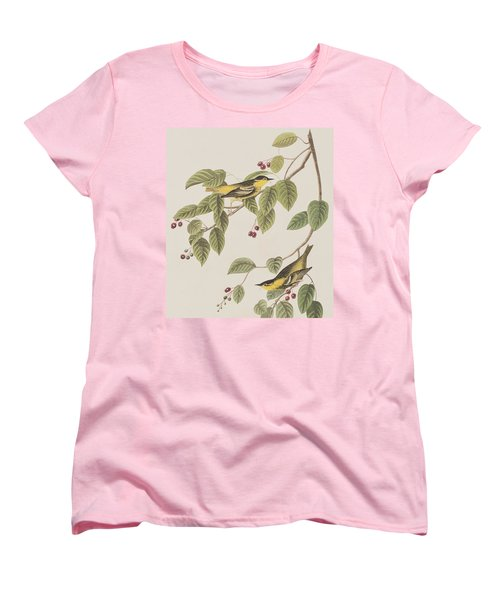 Carbonated Warbler Women's T-Shirt (Standard Cut) by John James Audubon