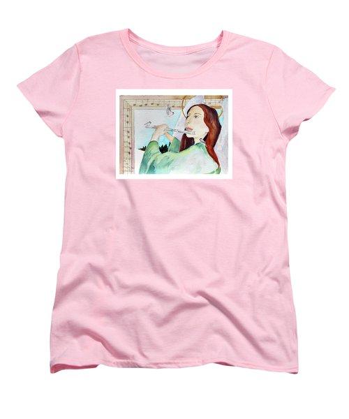 Carol Of The Birds Women's T-Shirt (Standard Cut)