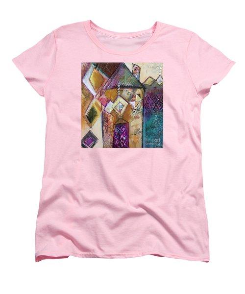 Castle Tower Women's T-Shirt (Standard Cut) by Karin Husty