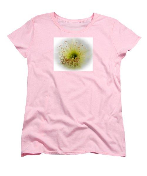 Cctus Flower Women's T-Shirt (Standard Cut) by Christy Usilton