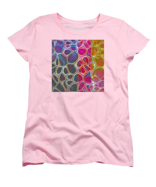 Cell Abstract 11 Women's T-Shirt (Standard Cut) by Edward Fielding