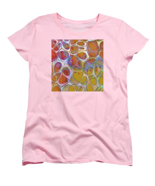 Cell Abstract 14 Women's T-Shirt (Standard Cut) by Edward Fielding