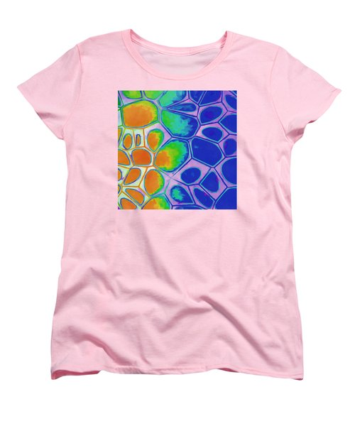 Cell Abstract 2 Women's T-Shirt (Standard Cut) by Edward Fielding