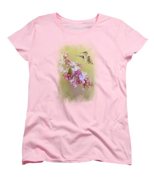 Chasing Lilacs Women's T-Shirt (Standard Cut) by Jai Johnson
