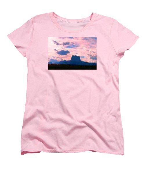 Chief Mountain, Pastel Women's T-Shirt (Standard Cut)