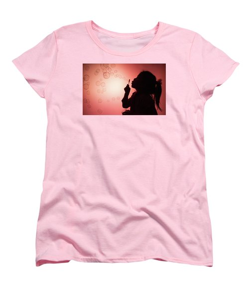 Women's T-Shirt (Standard Cut) featuring the photograph Childhood Days by William Lee