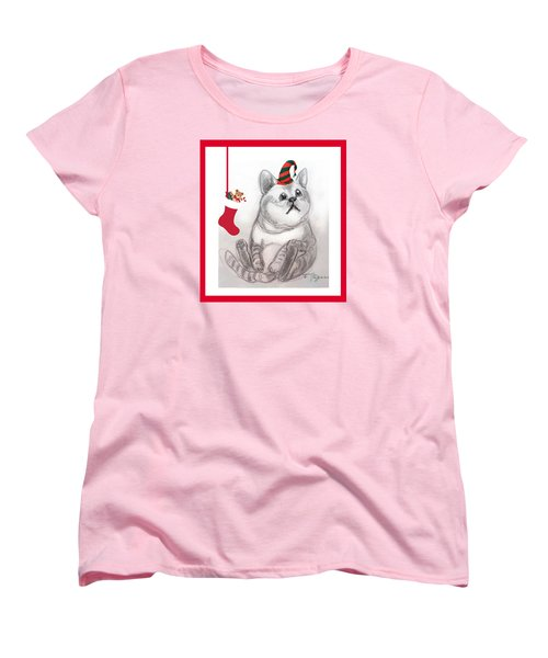 Christmas Kitty Women's T-Shirt (Standard Cut)