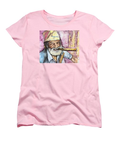 Cigars And Cuba Women's T-Shirt (Standard Cut) by Victor Minca
