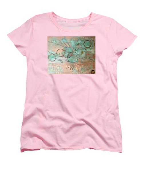 Circumnavigate Women's T-Shirt (Standard Cut) by T Fry-Green