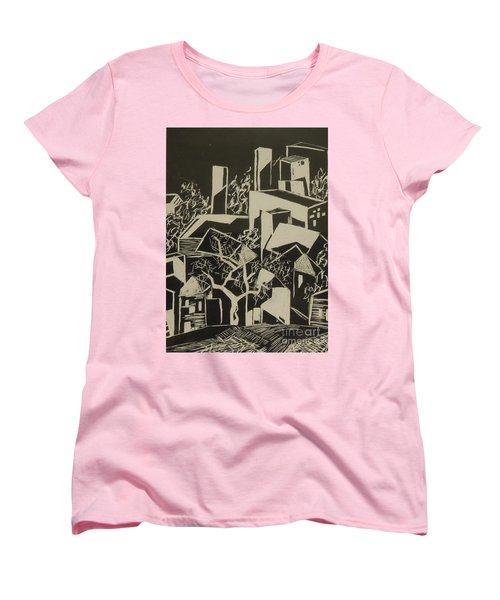 City By Moonlight - Sold Women's T-Shirt (Standard Cut) by Judith Espinoza
