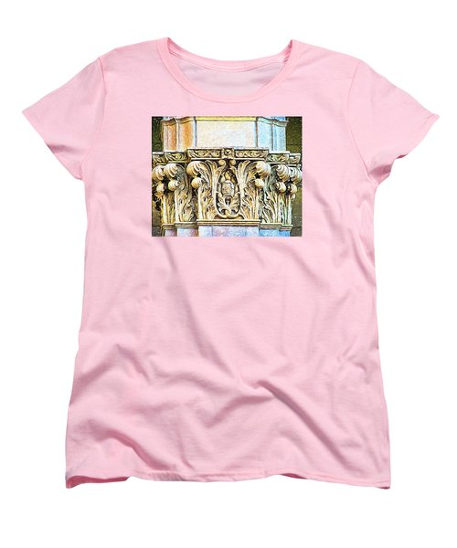Women's T-Shirt (Standard Cut) featuring the digital art Classic by Wendy J St Christopher