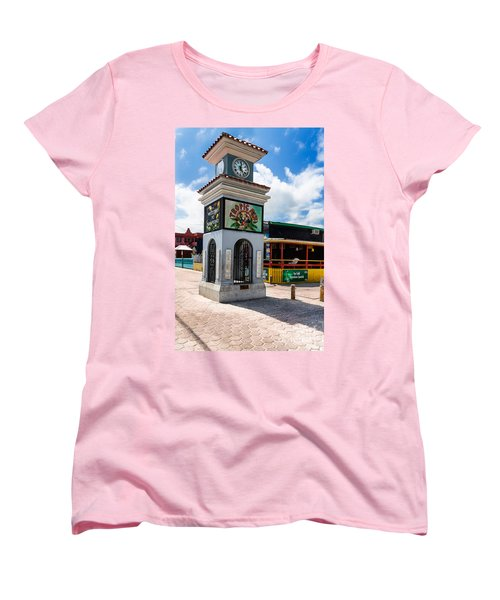 Clock Tower Women's T-Shirt (Standard Cut) by Lawrence Burry