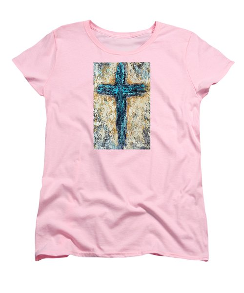 Clothe Yourself In Mercy Women's T-Shirt (Standard Cut) by Kirsten Reed