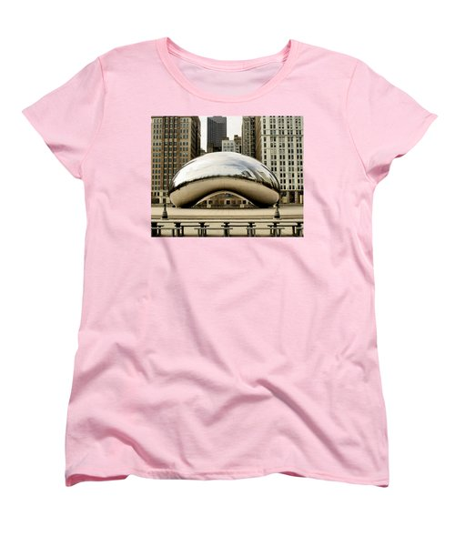 Cloud Gate - 3 Women's T-Shirt (Standard Cut) by Ely Arsha