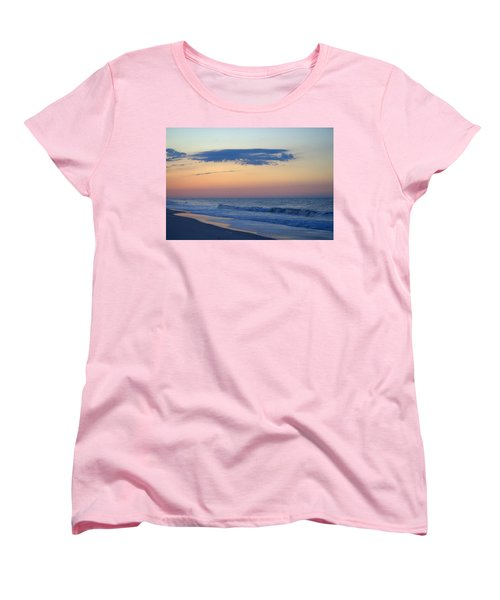 Women's T-Shirt (Standard Cut) featuring the photograph Clouded Pre Sunrise by  Newwwman