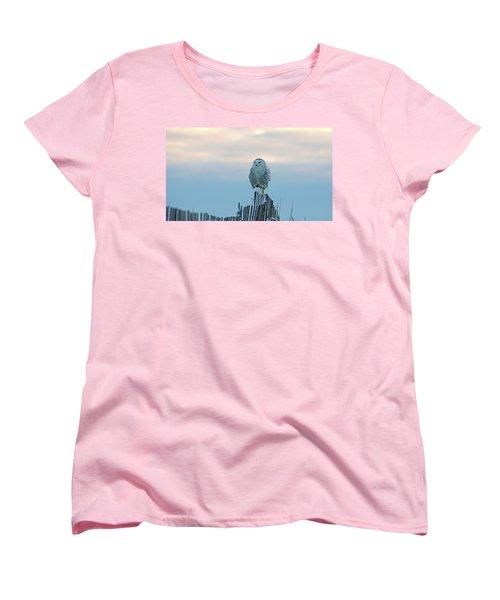 Cold Morning Light Women's T-Shirt (Standard Cut) by Stephen Flint