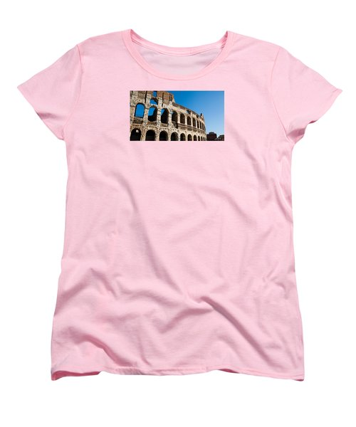 Colosseum - Old And New Women's T-Shirt (Standard Cut) by Ed Cilley