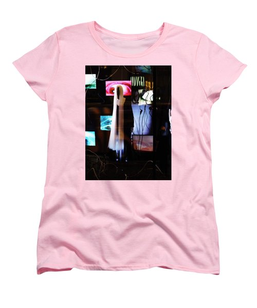 Come Play The American Dream  Women's T-Shirt (Standard Cut) by Inga Kirilova