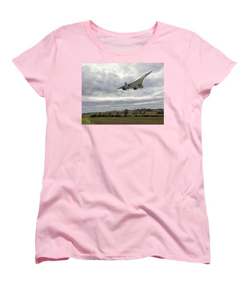 Concorde - High Speed Pass Women's T-Shirt (Standard Cut) by Paul Gulliver