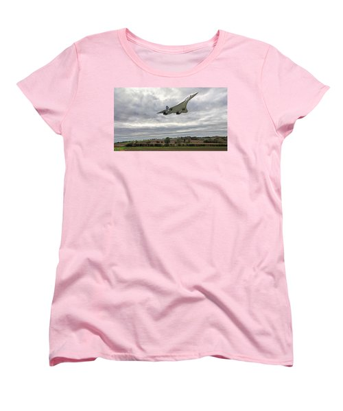 Concorde - High Speed Pass_2 Women's T-Shirt (Standard Cut) by Paul Gulliver
