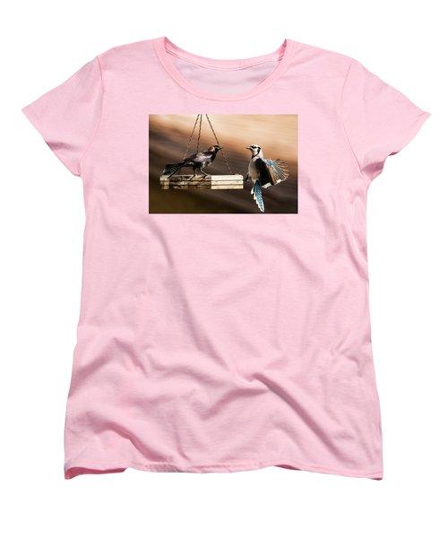 Confrontation Women's T-Shirt (Standard Cut)