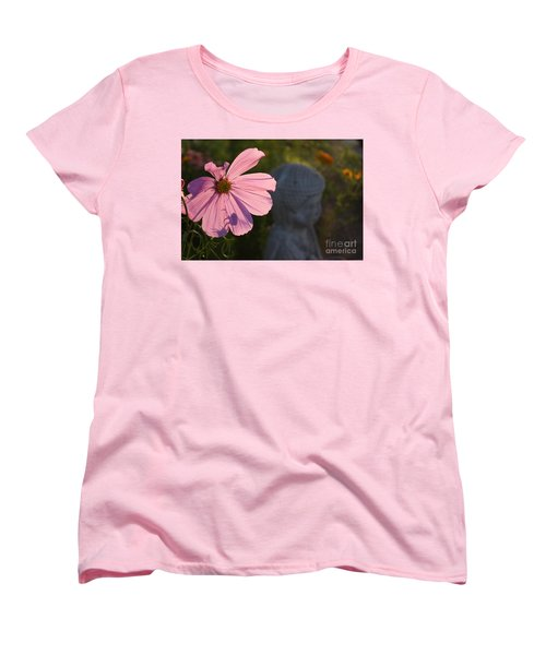 Women's T-Shirt (Standard Cut) featuring the photograph Contemplating The Cosmo by Brian Boyle