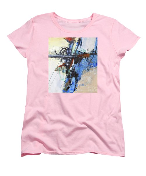 Coolly Collected Women's T-Shirt (Standard Cut) by Ron Stephens
