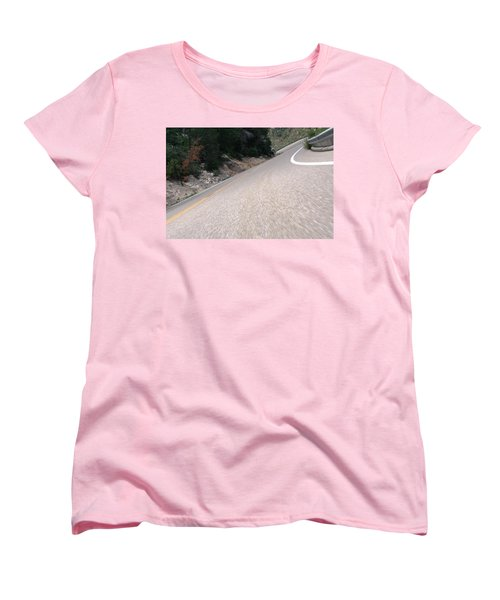Corner To Corner Women's T-Shirt (Standard Cut) by David S Reynolds