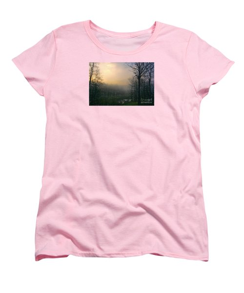 Women's T-Shirt (Standard Cut) featuring the photograph Country Sketch by Mim White