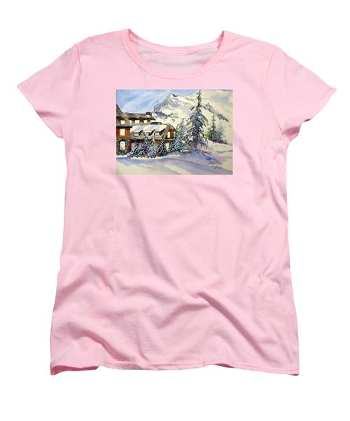 Crater Lake Lodge - Closed For Winter    Women's T-Shirt (Standard Cut)