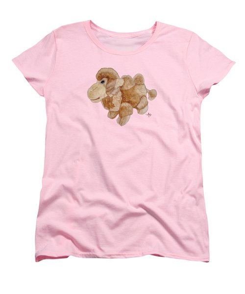 Cuddly Camel Women's T-Shirt (Standard Cut) by Angeles M Pomata