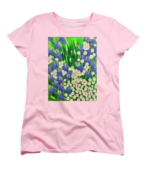 Daisy And Glads Women's T-Shirt (Standard Cut) by George Riney