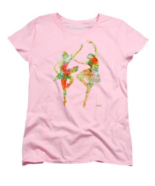 Dance With Me Women's T-Shirt (Standard Cut) by Nikki Smith