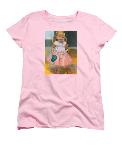 Dancer With Sippy Cup Women's T-Shirt (Standard Cut) by Kaytee Esser