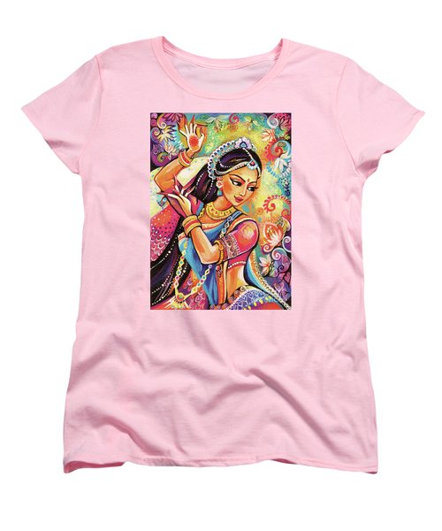 Women's T-Shirt (Standard Cut) featuring the painting Dancing Of The Phoenix by Eva Campbell