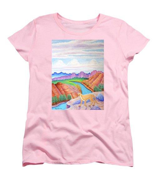 Dawn Patrol Women's T-Shirt (Standard Cut) by Tracy Dennison