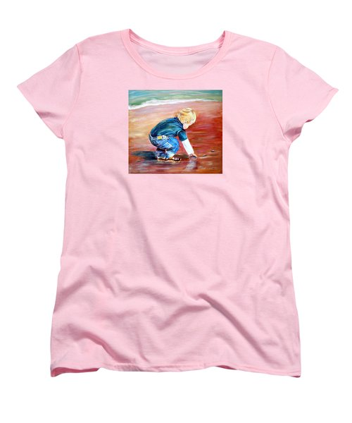 Day At The Beach Women's T-Shirt (Standard Cut) by Patricia Piffath